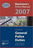 General Police Duties 2007, Hutton, Glenn, 0199203334