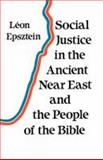 Social Justice Ancient near East/People Bible, L. Epsztein, 0334023343