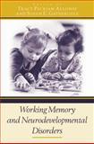 Working Memory and Neurodevelopmental Disorders, , 0415653347