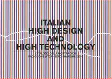 Italian High Design and High Technology, , 8895623347
