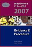 Evidence and Procedure 2007, Smart, Huw and Watson, John, 0199203342
