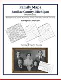 Family Maps of Sanilac County, Michigan, Deluxe Edition : With Homesteads, Roads, Waterways, Towns, Cemeteries, Railroads, and More, Boyd, Gregory A., 1420313347