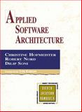 Applied Software Architecture, Hofmeister, Christine and Nord, Robert, 0321643348