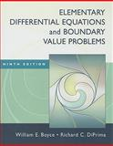 Elementary Differential Equations and Boundary Value Problems, Boyce, William E. and DiPrima, Richard C., 0470383348