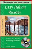 Easy Italian Reader : A Three-Part Text for Beginning Students, Saggese, Riccarda, 0071603344