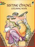 Sistine Chapel Coloring Book, Michelangelo, 048643334X