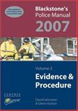 Evidence and Procedure 2007, Hutton, Glenn and Johnston, David, 0199203350