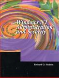 Windows NT Administration and Security, Hudson, Richard O., 0130263354