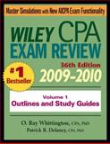 CPA Exam Review 2009-2010, Delaney, Patrick R. and Whittington, O. Ray, 0470453354