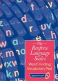 Word Finding Vocabulary Test, Renfrew, Catherine, 0863883354