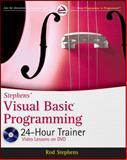 Stephens' Visual Basic Programming 24-Hour Trainer, Rod Stephens, 0470943351