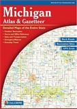 Michigan Atlas and Gazetteer, Langenscheidt, 0899333354