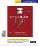 Psychology and Life, Books a la Carte Edition, Gerrig and Gerrig, Richard J., 0205743366