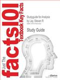 Studyguide for Analysis by Steven R Lay, Isbn 9780131481015, Cram101 Textbook Reviews and Lay, Steven R., 1478423366