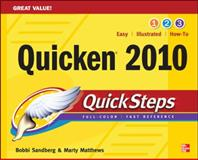 Quicken 2010, Sandberg, Bobbi and Matthews, Marty, 0071633367