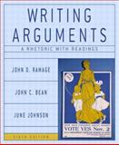 Writing Arguments : A Rhetoric with Readings, Ramage, John D. and Bean, John C., 0321163370