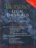 Burton's Legal Thesaurus 9780028653372