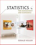 Statistics for Management and Economics, Keller, Gerald, 0324653379