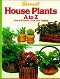 House Plants, Sunset Publishing Staff, 0376033371