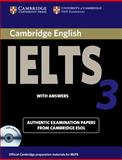Cambridge IELTS 3, University of Cambridge Local Examinations Syndicate, 0521013372