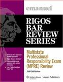 Multistate Professional Responsibility Exam (MPRE) Review 2008-2009, Emanuel, Steven and Rigos, Jim, 0735573379