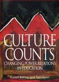 Culture Counts : Changing Power Relations in Education, Bishop, Russell and Glynn, Ted, 1842773372
