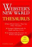 Webster's New World Thesaurus, Charlton G. Laird, 0028603370