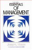 Essentials of Management, Massie, Joseph L., 0132863375