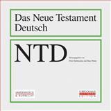 Neues Testament Deutsch : CD-ROM und Handbuch und Bandausgabe (Bande 1-11), , 3525513372