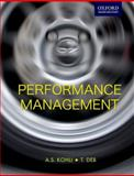 Performance Management, Kohli, A. S. and Deb, T., 019569337X