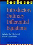 Introductory Ordinary Differential Equations, Schiavone, Peter, 0139073388