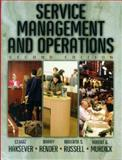 Service Management and Operations, Haksever, Cengiz and Murdick, Robert G., 0130813389