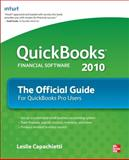 QuickBooks 2010 the Official Guide, Capachietti, Leslie, 0071633383