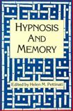 Hypnosis and Memory, , 0898623383