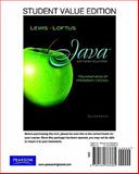 Student Value Edition for Java Software Solutions, Lewis, John and Loftus, William, 013278338X