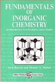 Fundamentals of Inorganic Chemistry : An Introductory Text for Degree Course Studies, Barrett, Jack and Malati, Mounir A., 1898563381