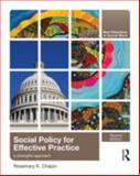 Social Policy for Effective Practice, Rosemary Chapin, 0415873398