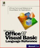 Microsoft Office 97-Visual Basic Language Reference, Microsoft Official Academic Course Staff, 1572313390
