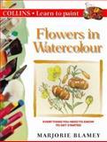 Flowers in Watercolour, Marjorie Blamey, 0004133390