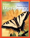Thorndike Barnhart School Dictionary, Scott Foresman, 0673603393