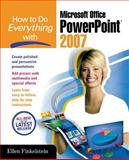 How to Do Everything with Microsoft Office PowerPoint 2007, Ellen Finkelstein, 0072263393