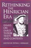 Rethinking the Henrician Era 9780252063404
