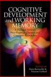 Cognitive Development and Working Memory, , 0415653401