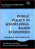 Public Policy in Knowledge-Based Economies : Foundations and Frameworks, Rooney, David and Hearn, Gregory, 1840643404