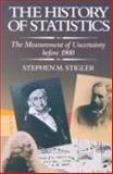 The History of Statistics, Stephen M. Stigler, 0674403401