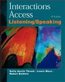 Interactions Access : A Listening/Speaking Skills Book, Thrush, Emily A. and Baldwin, Robert, 0070633401