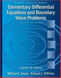 Student Solutions Manual to accompany Boyce Elementary Differential Equations and Boundary Value Problems, Boyce, William E. and DiPrima, Richard C., 0471433403