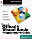 Microsoft Office 97-Visual Basic Programmer's Guide, Microsoft Official Academic Course Staff, 1572313404