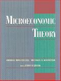 Microeconomic Theory, Mas-Colell, Andreu and Green, Jerry R., 0195073401