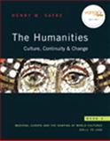 The Humanities : Culture, Continuity, and Change, Book 2 Reprint (with MyHumanitiesKit Student Access Code Card), Sayre, Henry M., 0205723403